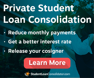 private student loan consolidation learn more